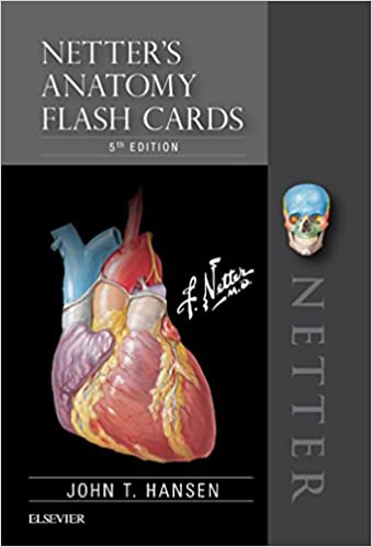 NETTER'S ANATOMY FLASH CARDS 2019 - آناتومی