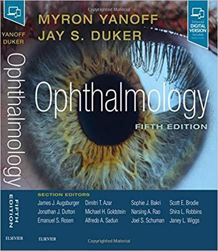 Ophthalmology yanoff 2 vol 5th 2019 - چشم