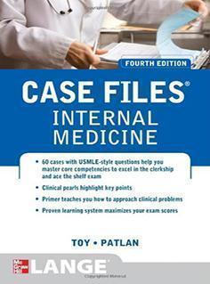 CASE  FILES  INTERNAL MEDICINE  2012 - داخلی