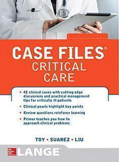 CASE FILES CRITICAL CARE  2014 - بیهوشی