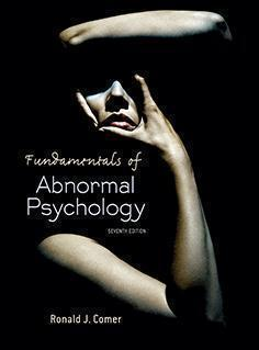 ABNORMAL  PSYCHOLOGY  2014 - روانپزشکی