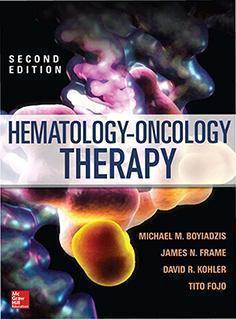 HEMATOLOGY AND ONCOLOGY  THERAPY  2014 - داخلی خون و هماتولوژی