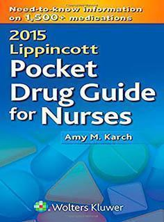 POCKET DRUG FOR NURSES  2015 - فارماکولوژی
