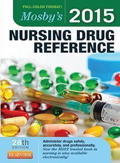 NURSING  DRUG REFRENCES  2015 - پرستاری