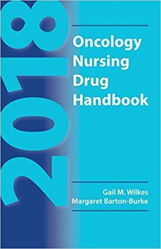 Oncology Nursing Drug Handbook 2018 - پرستاری