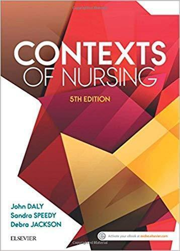 Contexts of Nursing 2017 - پرستاری