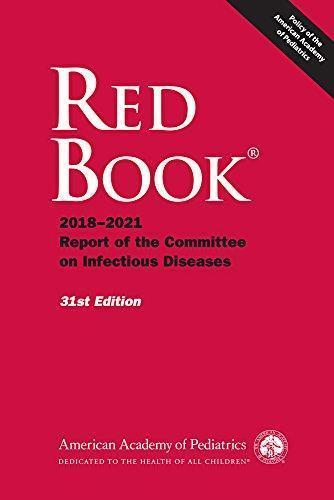 Red Book 2018 Report of the Committee on Infectious Diseases - اطفال