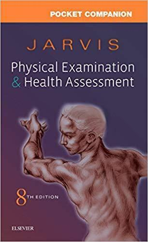 Pocket Companion for Physical Examination and Health Assessment 2020 - معاینه فیزیکی و شرح و حال