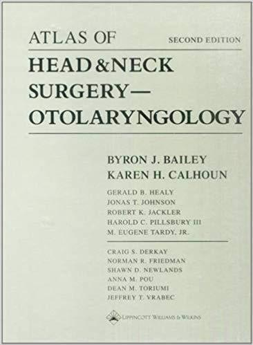 Atlas of Head & Neck Surgery-Otolaryngology - گوش و حلق و بینی