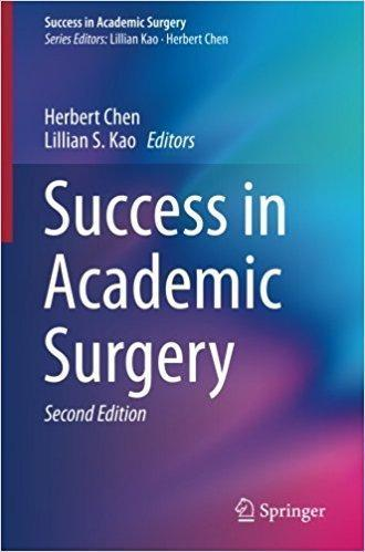 Success in Academic Surgery  2017 - جراحی