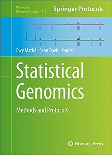 Statistical Genomics: Methods and Protocols  2016 - ژنتیک