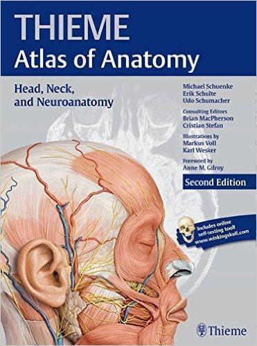 THIEME ATLAS OF ANATOMY HEAD NECK AND NEUROANATOMY 2016 - آناتومی