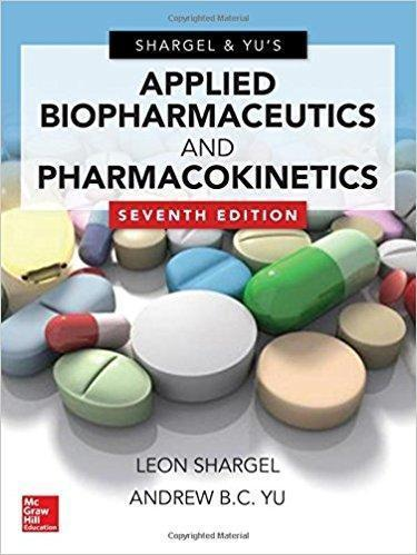 Applied Biopharmaceutics & Pharmacokinetics  2016 - فارماکولوژی