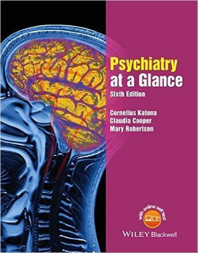 AT A GLANCE PSYCHIATRY  2016 - روانپزشکی