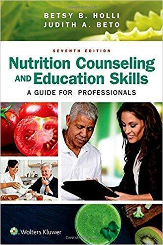 Nutrition Counseling and Education Skills  2017 - تغذیه
