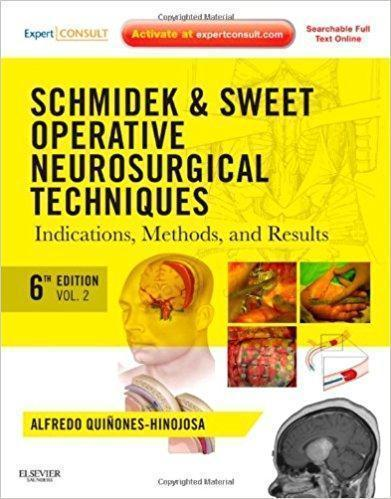 schmidek & sweet operative neurosurgical techniques 3 Vol  2012 - نورولوژی