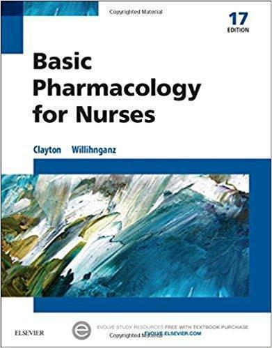 Basic Pharmacology for Nurses  2016 - پرستاری