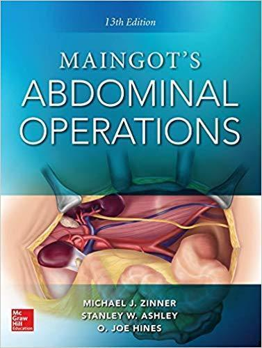 Maingot s Abdominal Operations  13th edition  2vol 2019 - جراحی