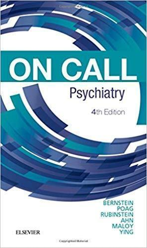 On Call Psychiatry 2019 - روانپزشکی