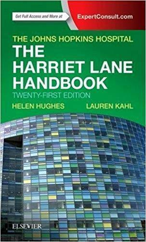The Harriet Lane Handbook  2017 - اطفال