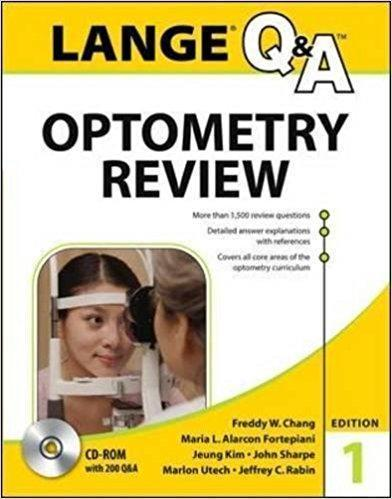 Lange Q&A Optometry Review  2015 - چشم