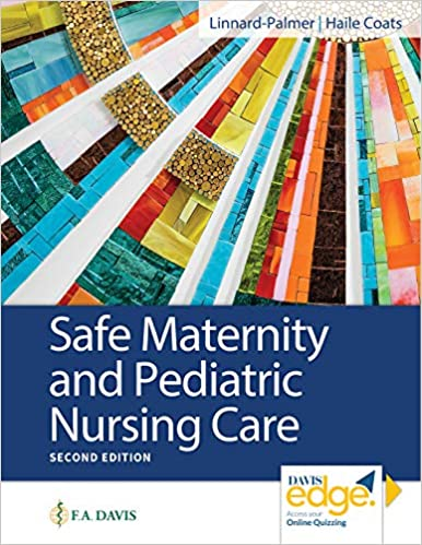 Safe Maternity & Pediatric Nursing Care  2020 - پرستاری