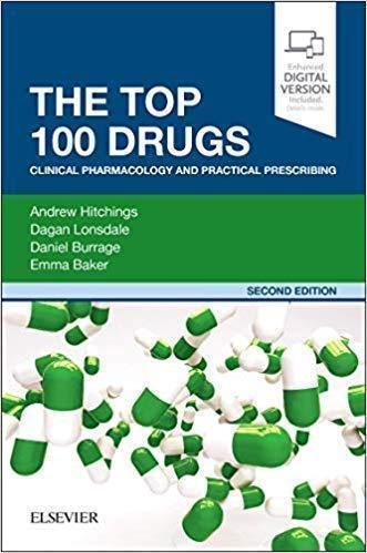 The Top 100 Drugs: Clinical Pharmacology and Practical Prescribing 2019 - فارماکولوژی