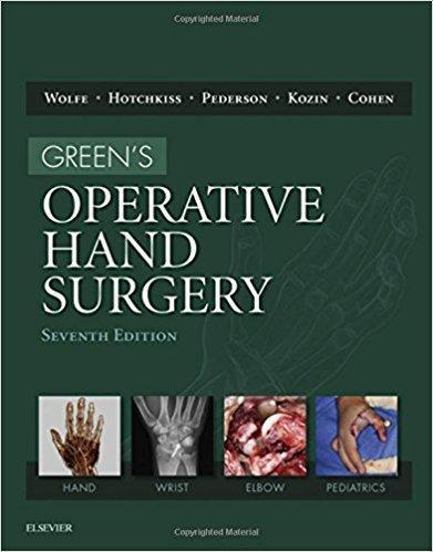 Greens Operative Hand Surgery  2016 - اورتوپدی