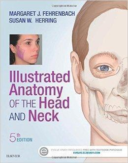 Illustrated Anatomy of the Head and Neck  2016 - آناتومی