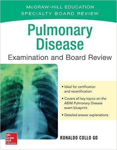 Pulmonary Disease Examination and Board Review 2016 - داخلی تنفس