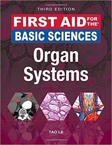 First Aid for the Basic Sciences  Organ Systems 2vol 2017 - آزمون های امریکا Step 1