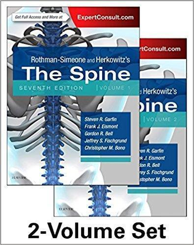 Rothman-Simeone and Herkowitz's The Spine, 2 Vol 2018 - جراحی