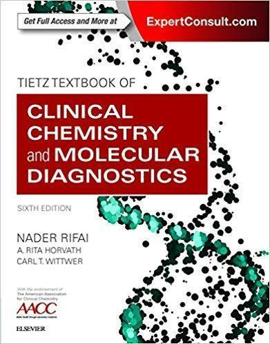 Tietz Textbook of Clinical Chemistry and Molecular Diagnostics 2018 - بیوشیمی