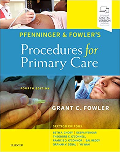 Pfenninger and Fowlers Procedures for Primary Care 2 Vol 2020