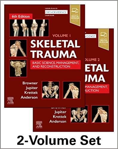 Skeletal Trauma-Basic Science- Management- and Reconstruction 3Vol 2020 - اورتوپدی