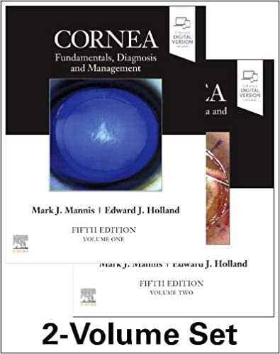 Cornea, 2-Volume 5th Edition-2022
