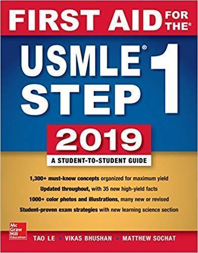 First Aid for the USMLE Step 1 2019 - آزمون های امریکا Step 1
