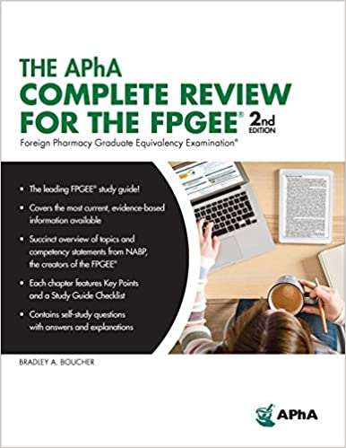 The APhA Complete Review for the FPGEE  2018 - فارماکولوژی