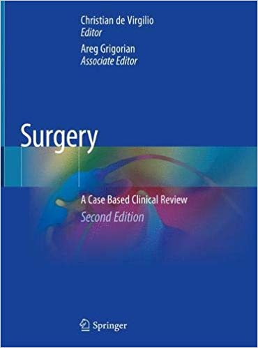 Surgery - A Case Based Clinical Review 2020 - جراحی