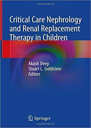 Critical Care Nephrology and Renal Replacement Therapy in Children 2018 - اطفال