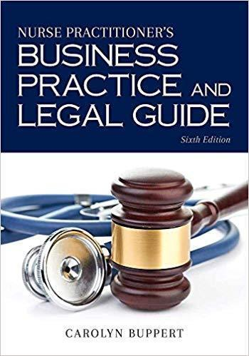 Nurse Practitioners Business Practice and Legal Guide2018 - پرستاری