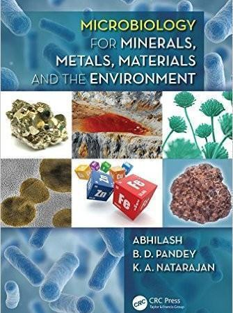 Microbiology for Minerals, Metals, Materials and the Environment  2015 - میکروب شناسی و انگل