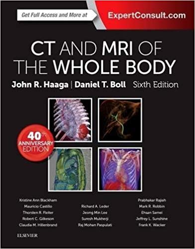 CT AND MRI OF THE WHOLE BODY HAAGA 3 Vol  2017 - رادیولوژی