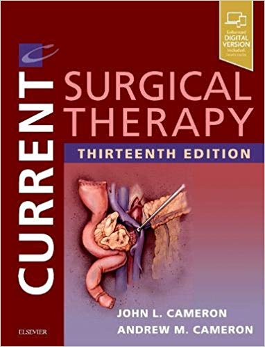 Current Surgical Therapy 13th Edition 2 Vol + Video 2020 - جراحی