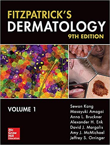 FITZPATRIC  DERMATOLOGY IN GENERAL MEDICINE  2 Vol 2019 - پوست