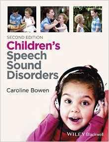 CHILDRENS SPEECH SOUND DISORDERS  2015 - اطفال