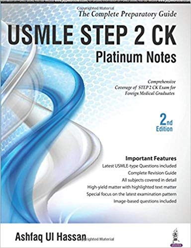 USMLE Platinum Notes Step 2 Ck: The Complete Preparatory Guide 2016 - آزمون های امریکا Step 2