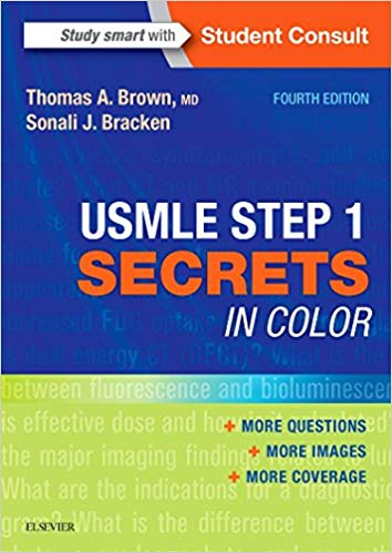 USMLE Step 1 Secrets in Color 2017 - آزمون های امریکا Step 1