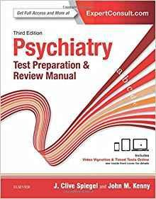 Psychiatry Test Preparation and Review Manual  2017 - روانپزشکی