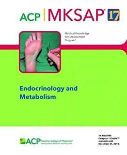 ACP MKSAP ENDOCRINOLOGY AND METABOLISM  2017 - داخلی غدد